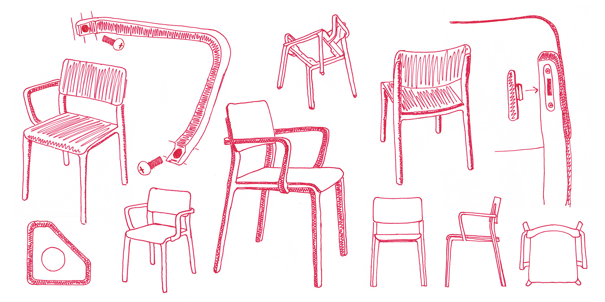 Origin Furniture Sketches