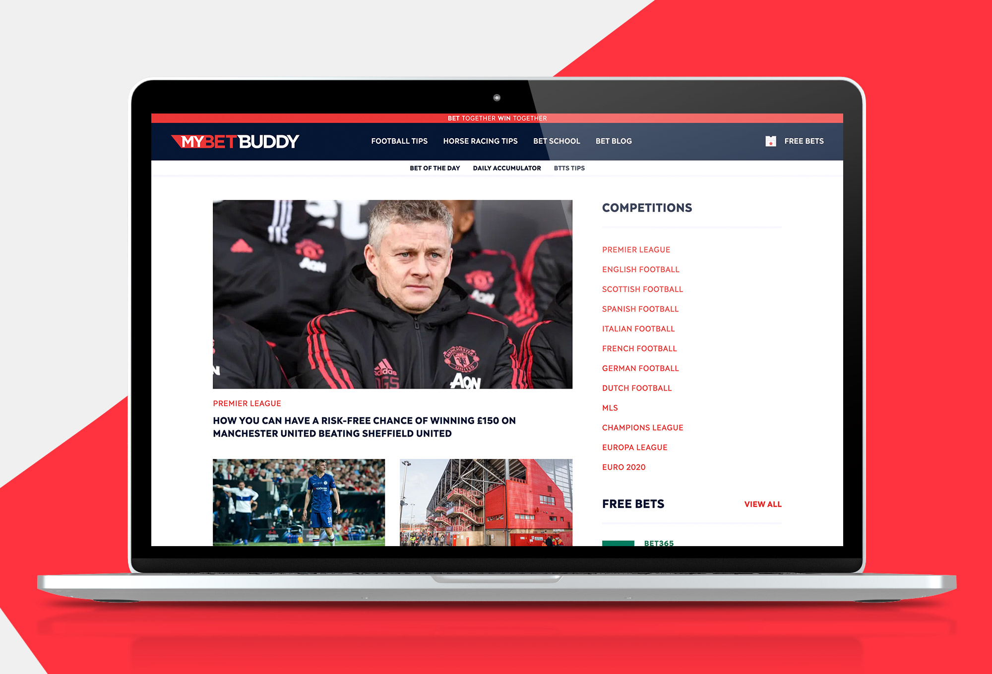 MyBetBuddy Home Page