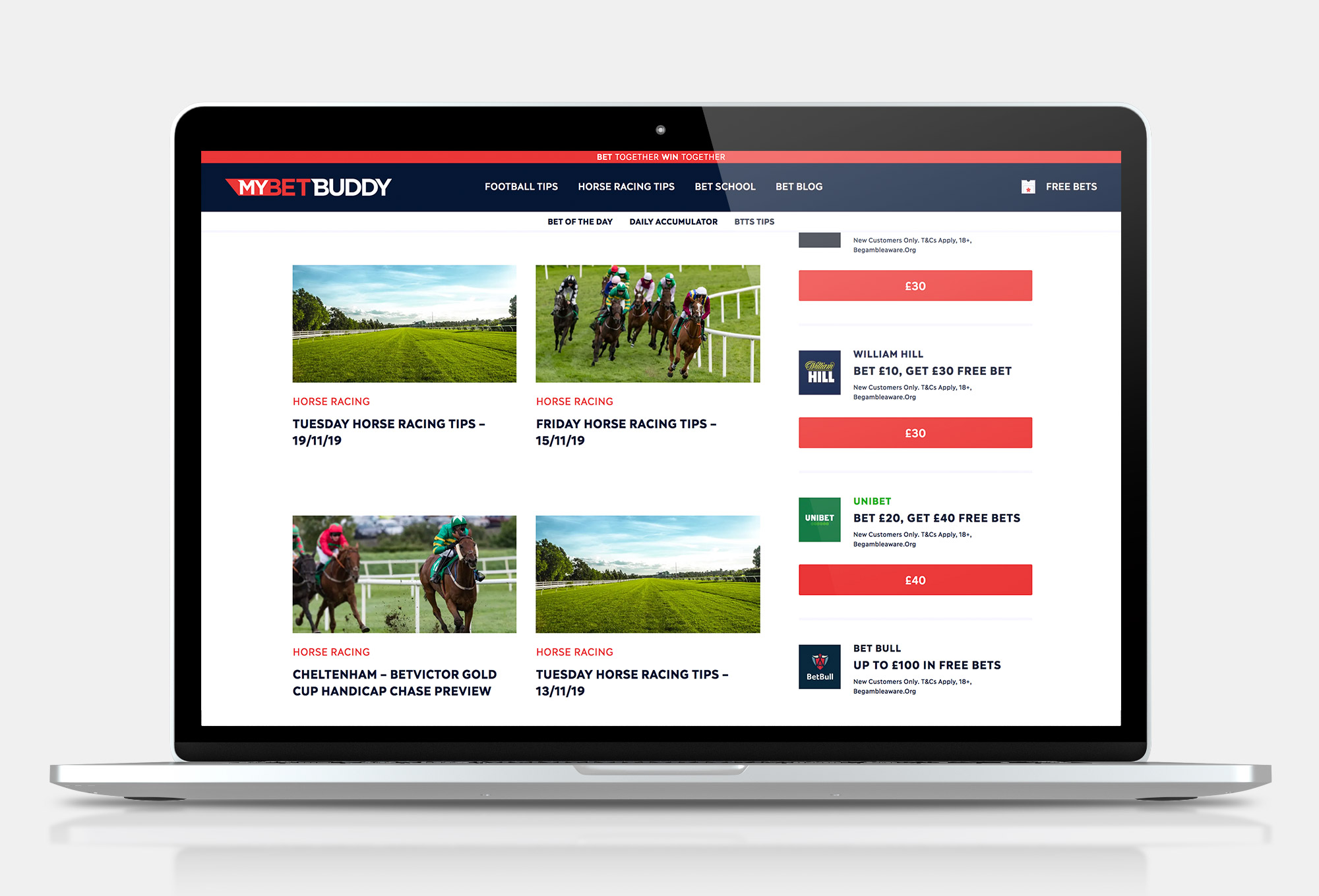 MyBetBuddy Horse Racing Archive Pages